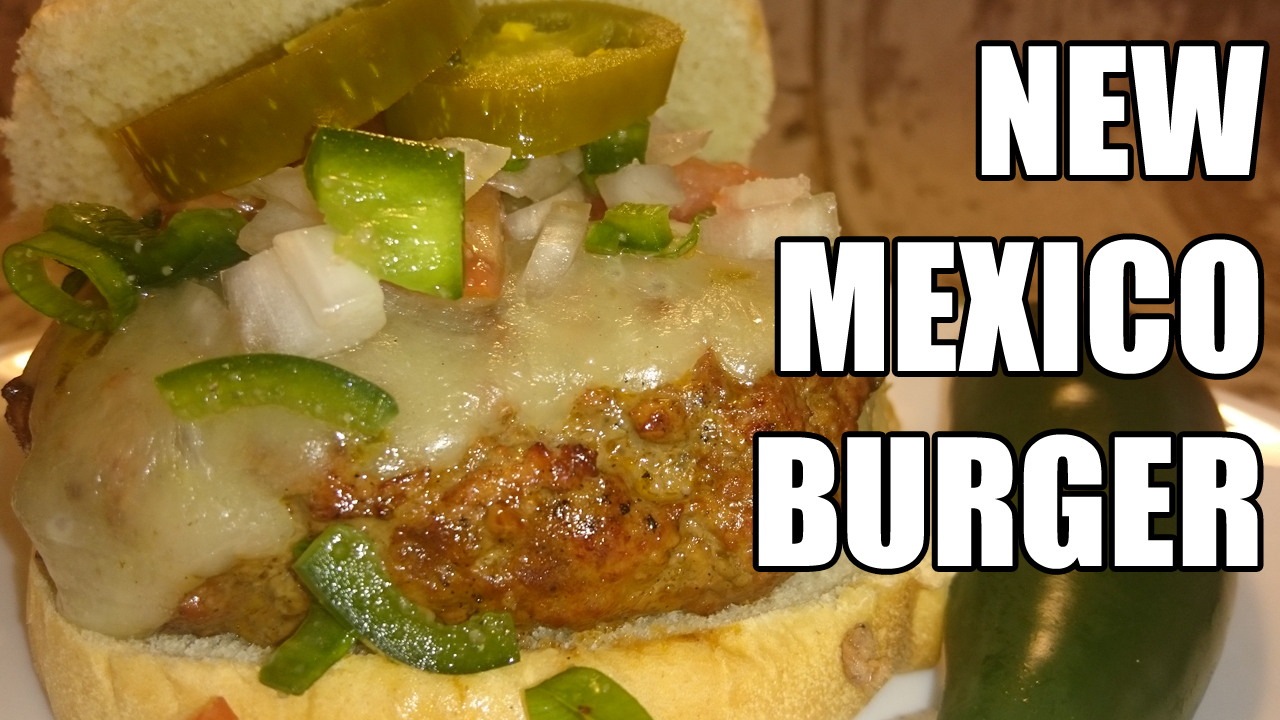 Rican's New Mexico Burger - Average Guy Gourmet