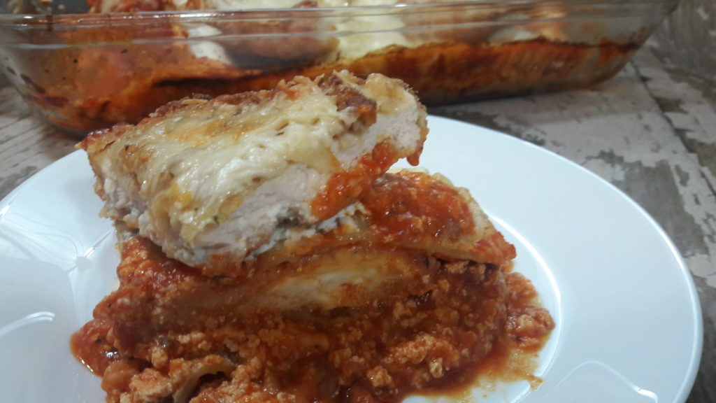 Chicken Parmesan Lasagna Average Guy Gourmet