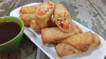 Sweet and Sour Chicken Egg Rolls
